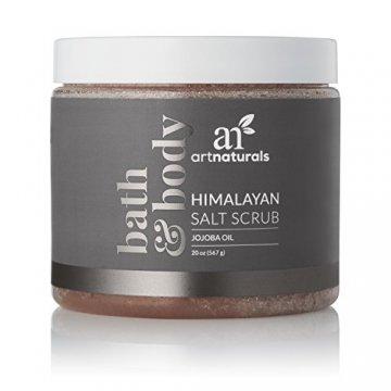 ArtNaturals Himalaya-Salz Körper-Peeling Scrub - (20 Oz / 567g) - Tiefenreinigung und Exfoliation mit Sheabutter und Jojobaöl - 2