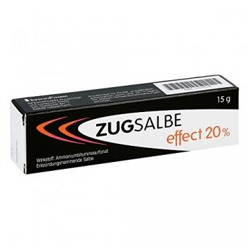 Zugsalbe effect 20%, 15 g Salbe - 1
