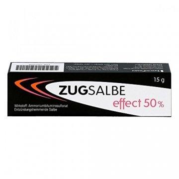Zugsalbe effect 50%, 15 g Salbe - 3