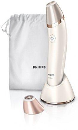 Philips SC6240/01 VisaCare, Mikrodermabrasion für straffe, jugendlicher aussehende Haut, weiß/gold - 1