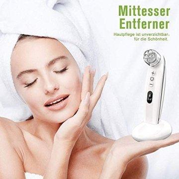 Mitesserentferner,Proenreiniger mit 6 Saugstärken, Blackhead Remover mit 4 verschiedene Funktionsköpfe,um Mitesser, Akne, Whiteheads effektiv zu entfernen,auch poren reinigung und derma suction - 7